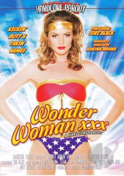 Wonder Woman XXX DVD Cover Art