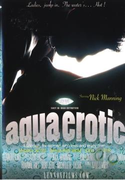 Aqua Erotic DVD Cover Art. Large Front Large Back