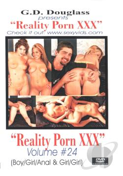 Reality Porn XXX # 24 DVD Cover Art. Large FrontLarge Back