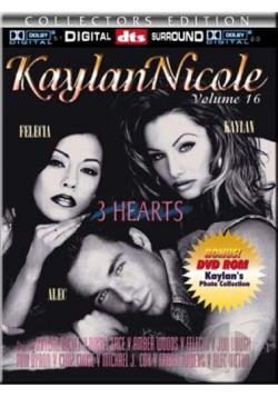 kaylan nicole 16 three hearts dvd at cd universe