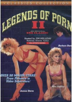 Legends Of Porn # 2 DVD Cover Art. Large Front