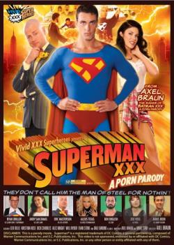 Superman XXX: A Porn Parody DVD Cover Art