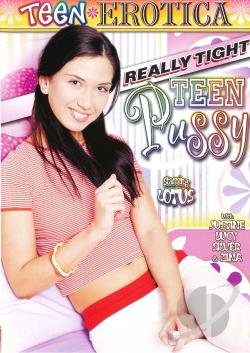 Really Tight Teen Pussy DVD Cover Art. Large Front Large Back