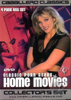 Classic Porn Stars Home Movies: 4 Pack DVD Cover Art. Large Front Large Back