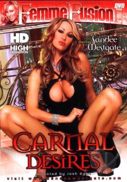 Carnal Desires DVD Cover Art. Large FrontLarge Back