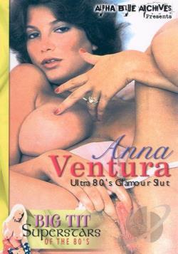 Anna Ventura - Ultra 80s Glamour Slut DVD Cover Art. Large Front Large Back