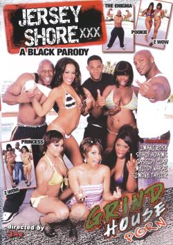 Jersey Shore XXX A Black Parody DVD Cover Art. Large Front