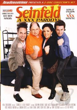 Seinfeld: A XXX Parody DVD Cover Art
