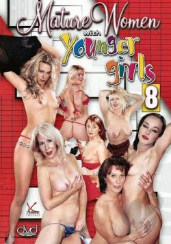 Mature Women Younger Girls # 8 DVD Cover Art. Large Front