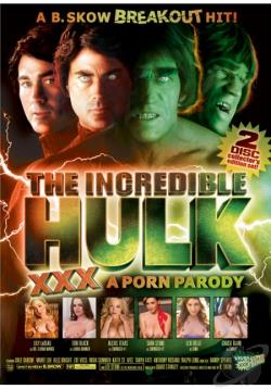 Incredible Hulk XXX Porn Parody DVD Cover Art