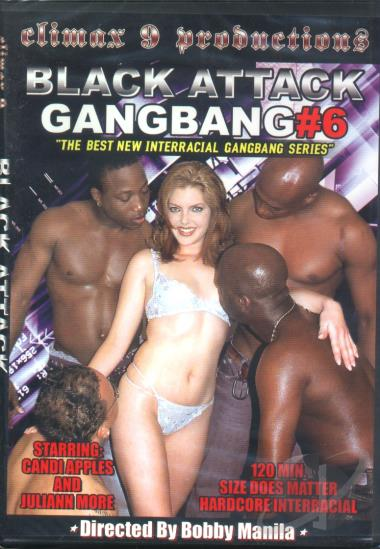 Black attack gang bang