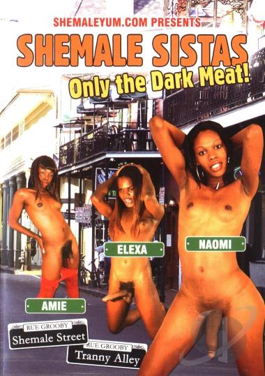 Dark meat only shemale sistas