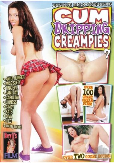 Cum Dripping Creampies # 7 DVD