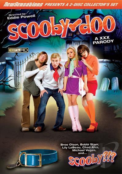 Scooby Doo A XXX Parody DVD Cover Art